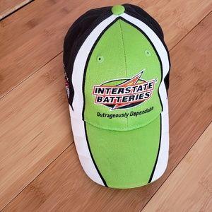 Kyle Busch interstate batteries hat